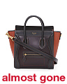 Made In Italy Nano Multicolor Leather Luggage Satchel