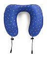 Memory Foam Neck Pillow With Media Pouch