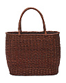 Made In Italy Basket Tote