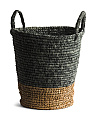 Small Tapered Basket With Natural Bottom