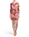 Made In USA Roccio Printed Dress