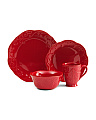 16pc French Perle Dinnerware Set