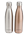 2pk Stainless Steel Bottles