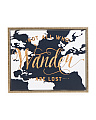 21x17 Wander Framed Canvas Wall Art