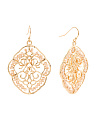 Beaded Filigree Earrings