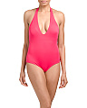 Flamingo One-piece Full Swimsuit