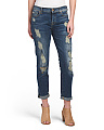 Josefina Boyfriend Destructed Jeans
