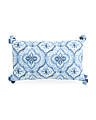 14x24 Boho Shibori Pillow