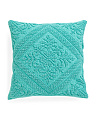 20x20 Soft Textured Medallion Pillow