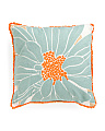 20x20 Lucia Floral Chainstitch Pillow