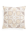 20x20 Chainstiched Medallion Pillow