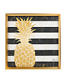 Tropical Pineapple Wall Decor