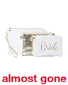 Set Of 3 Bride Cosmetic Pouch