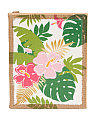 Palms Burlap Wall Decor