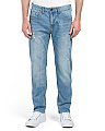 Slim Fit Stretch Light Wash Jeans