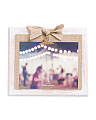 8x10 Burlap Bow Clip Photo Frame