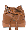 Kate Cara Leather Crossbody