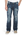 Slim Fit Destructed Denim Jeans