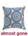 16x16 Medallion Pattern Pillow