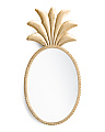 24in Metal Pineapple Mirror