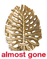 Made In India Palm Leaf Wall Sconce