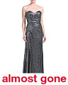 Sequin Slit Leg Gown