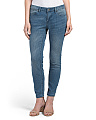 Skinny Jeans With Clean Hem