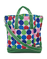 French Market Twill Jazz Dots Nylon Tote