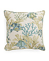 Made In USA 24x24 Oversized Fish Pattern Pillow