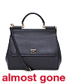 Made In Italy Large Leather Sicily Satchel