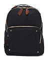 Backpack With Contrast Trim