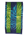 Made In India Tropical Leaf Beach Towel