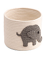 Kids Small Elle Rope Storage Bin