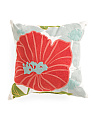 20x20 Indoor Outdoor Hibiscus Pillow