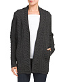 Made In Ireland Long Merino Wool Cardigan