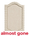 18x30 Linen Message Pin Board