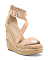 Ankle Strap Platform Wedge Sandals