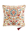 Made In India 20x20 Ankara Reversible Pillow