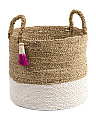 Made In Indonesia Large Seagrass Storage Bin