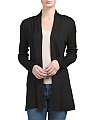 Open Lightweight Long Cardigan