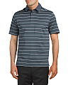 Coldblack Swing Plane Striped Polo