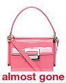 Made In Italy Miss Viv Patent Leather Bag