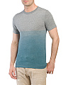 Dip Dye Heathered Ocean Tee