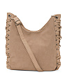 Side Lace Hobo