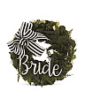 10in Faux Fern Bride Wreath