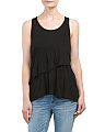 Made In USA Tencel Layered Tank