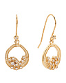 Emma Baby Cluster Cubic Zirconia Earrings