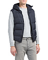 Gilet Row Hooded Puffer Vest