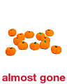 Made In India 12pk Mini Filler Pumpkins