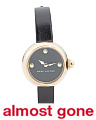 Women's Courtney Leather Strap Watch